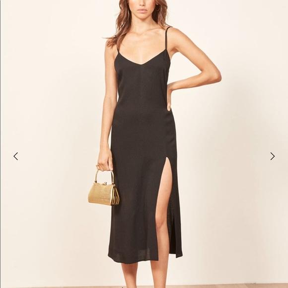 82ecb7f7aace Reformation Dresses | Crimini Black Dress | Poshmark